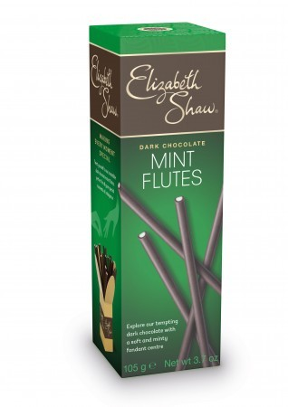 Dark Chocolate Mint Flutes