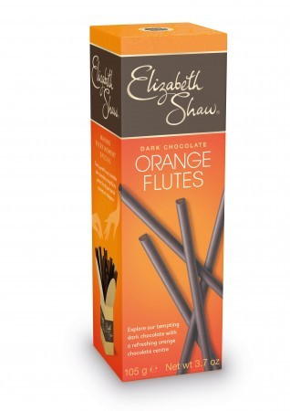 Dark Chocolate Orange Flutes