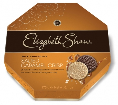 Milk Chocolate Salted Caramel Crisp 175g