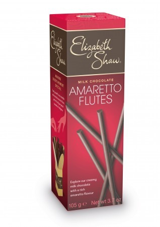 Milk Chocolate Amaretto Flutes