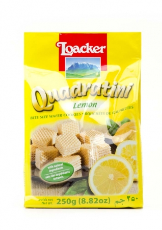 Loacker Quadratini Lemon 250g
