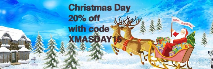 Boxing Day Sale 20 Percent Off Monday 28th December 2015