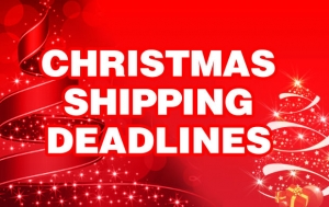 Christmas Shipping Update - Final Shipping Dates