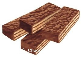 Loacker Gardena Chocolate covered wafers 200g