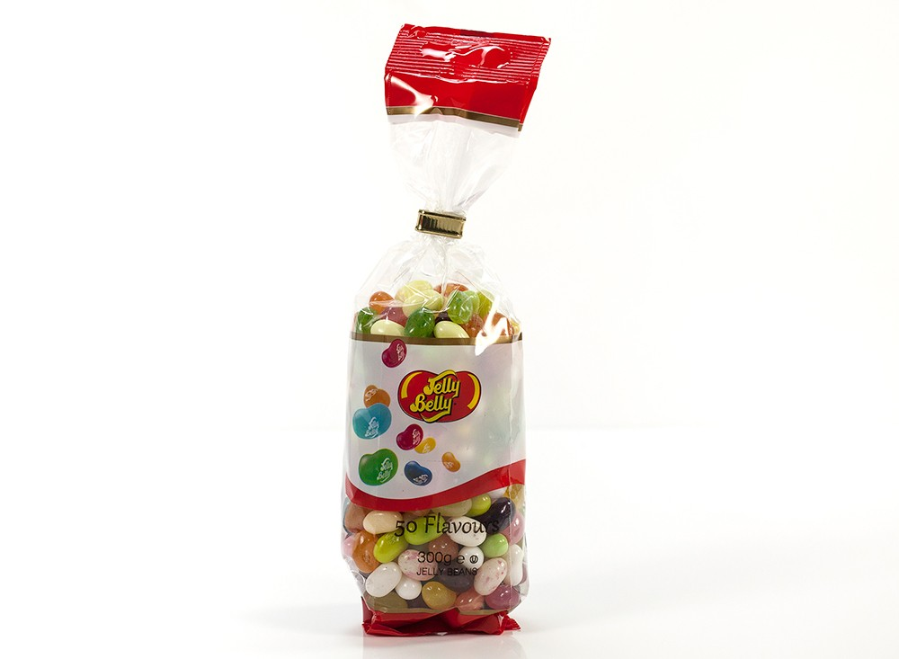 Jelly Belly 50 Flavour 300g Tie Top Bag