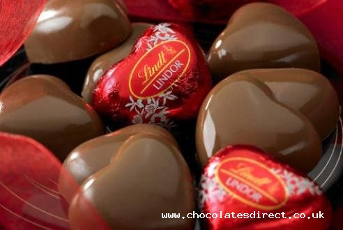 Milk Chocolate Lindor Hearts
