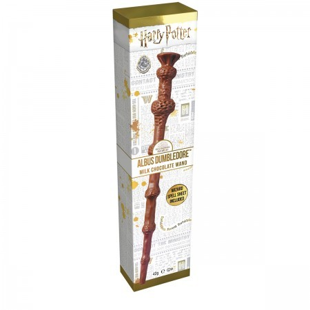 Albus Dumbledore's Milk Chocolate Wand with Spells