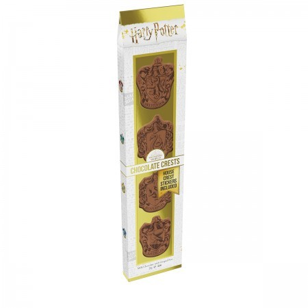 Harry Potter Milk Chocolate Hogwarts Crests with Stickers