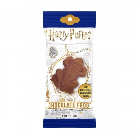 Harry Potter Milk Chocolate Frog with Collectable 3d Card