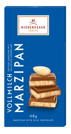 100g Classic Milk Chocolate Marzipan Bar