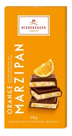 110g Orange Flavoured Marzipan